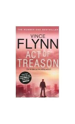Act of Treason Pa by Vince Flynn Book The Cheap Fast Free Post