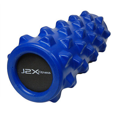 J2X Fitness Spiked Rumble Foam Roller Trigger Point Massage