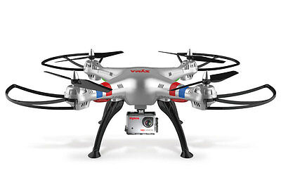 Syma X8G Quadcopter Drone with 8MP HD GoPro Style Camera & Headless Mode