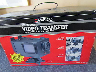 Ambico V 0652 Film/slide-video transfer w/YOUR Projector