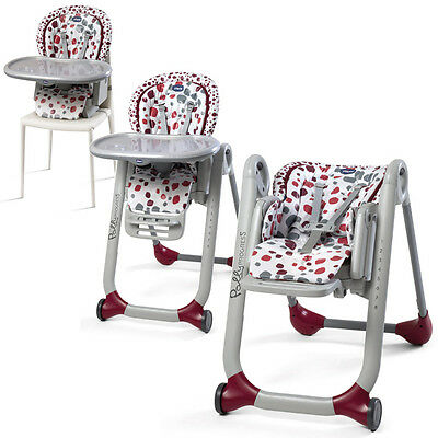 CHICCO 2016 Hochstuhl Polly PROGRES5 5 in 1 Kinderhochstuhl - Chicco High Chair