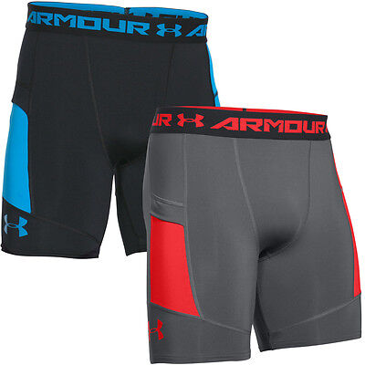 Under Armour 2016 Mens HeatGear Scope Media Pocket Compression Base Layer Shorts