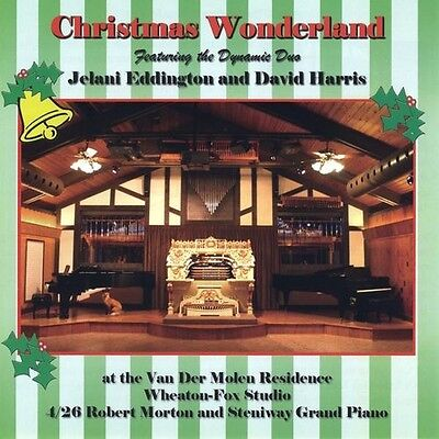 Jelani Eddington & David Harris, Jelani Eddington - Christmas Wonderland [New CD