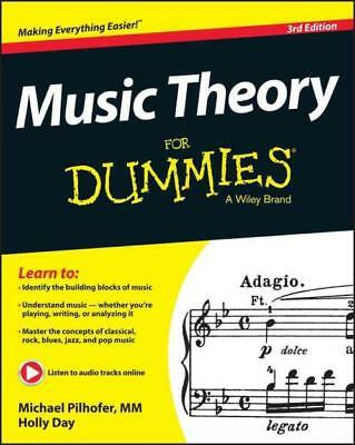 Music Theory For Dummies [978111899 - Michael Pilhofer Holly Day (Paperback) New
