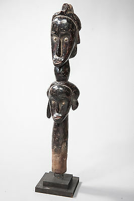 Fang, Janiform Reliquary Statue, Central Gabon, African Tribal Art, Sculpture