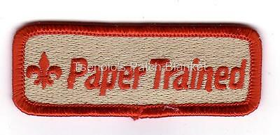 PAPER TRAINED Training Strip Private Issue Mint Condition FREE SHIPPING
