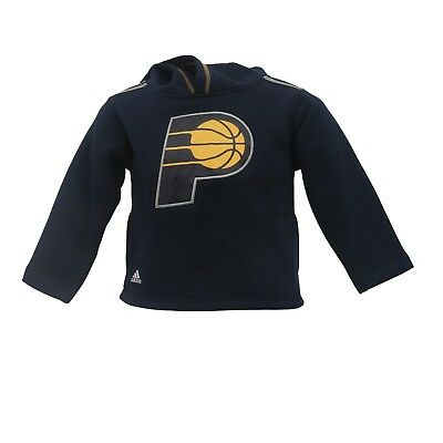 6c76dd05 Indiana Pacers Official NBA Adidas Apparel Youth Kids Size Hooded Sweatshirt  New