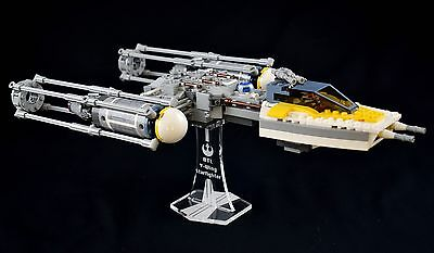 Star Wars Lego 7658 & 9495 Y-Wing Starfighter - custom display stand only
