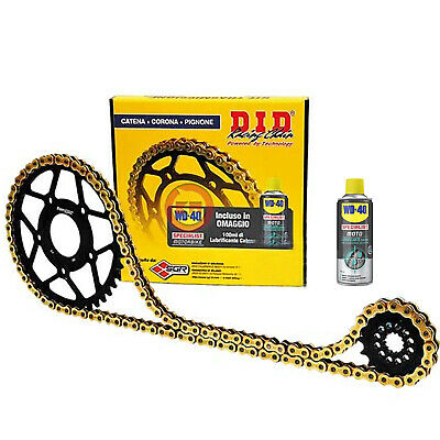 KIT TRASMISSIONE DID CATENA CORONA PIGNONE TRIUMPH 1050 Tiger-SE ABS 2007 2008