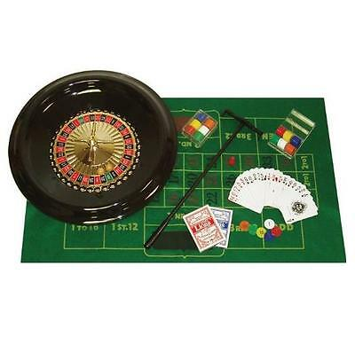 Trademark Poker 16-Inch Deluxe Roulette Set with Accessories High Quality New