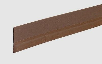 "New 05603 M-D BUILDING PRODUCTS 36"" ECONOMY DOOR SWEEP VINYL SELF ADHESIVE BROWN"