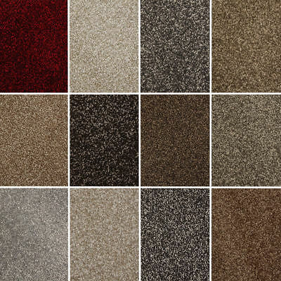 NEW! Balta - Quality Luxurious 13mm Saxony Pile, Hessian Backed Carpet