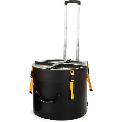 """Hardcase HNMS14HTDX Marching 14"""" Snare Drum Case With Wheels"""
