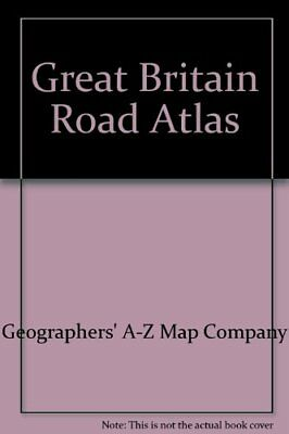 Great Britain Road Atlas by Geographers' A-Z Map Company Paperback Book The