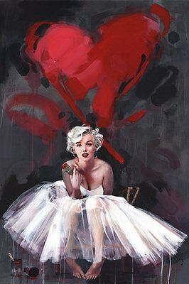 Marilyn Monroe James Paterson (Paint) - Maxi Poster 61cm x 91.5cm PP33769 - F06