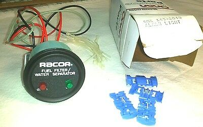 149-2048 Onan RACOR FUEL FILTER / WATER SEPARATOR Alarm Light 24 volt NOS