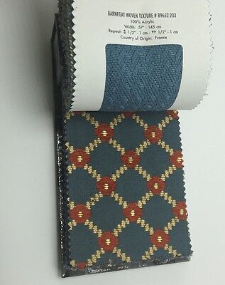 Brunschwig & Fils Sample Swatch Remnant Fabric Material Book Dollhouse Crafts