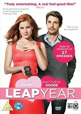 Leap Year  with Amy Adams New (DVD  2010)