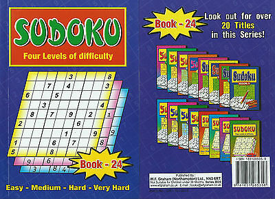 Sudoku Book 110+ Puzzles A5 Size Book Brand 4 Levels Of Difficulty A £1 Bargain