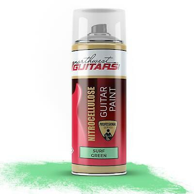 Surf Green Nitrocellulose Guitar Paint / Lacquer 400ml
