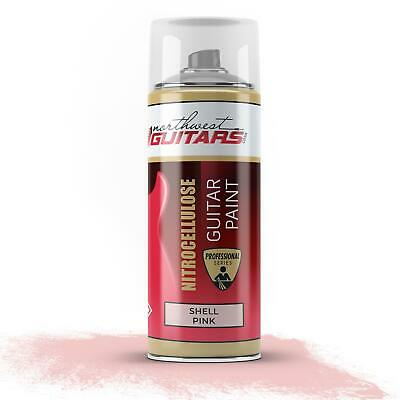 Shell Pink Nitrocellulose Guitar Paint / Lacquer 400ml