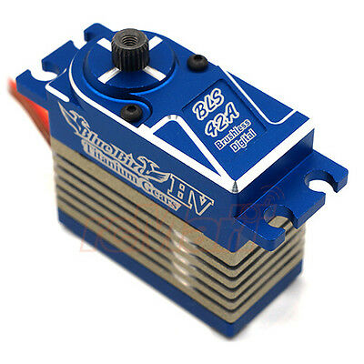 Blue Bird Aluminum Titanium Gears Digital Brushless Servo 1:10 RC Cars #BLS-42A