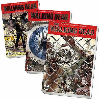 Set: THE WALKING DEAD Band 1-3 | Robert Kirkman | Comic 1+2+3 Softcover (Buch)