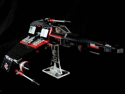 Star Wars Lego 75018 Jek14 Stealth Starfighter - custom display stand only