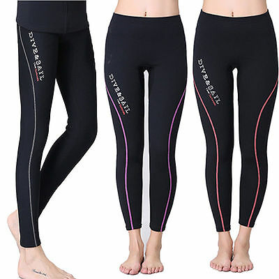 Ladies 1.5mm Neoprene Leggings, Wetsuit Trousers/Pants ,Kayak, Canoe, SUP