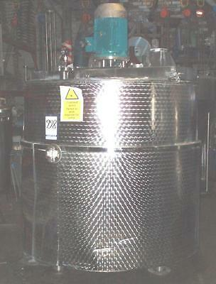 Hygienic Quality 316 Stainless Steel Silverson Jacketed Mixing Vessel