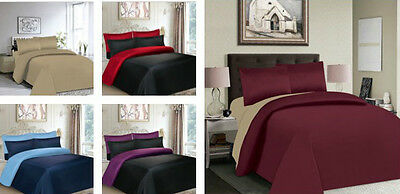 4-6 Piece Full Bedding Sets With Duvet Cover,fitted Sheet &pillowcases King Size