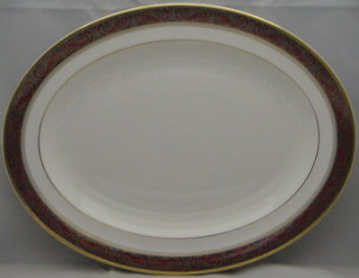 "Royal Doulton Martinique  13"" Oval Serving Platter"