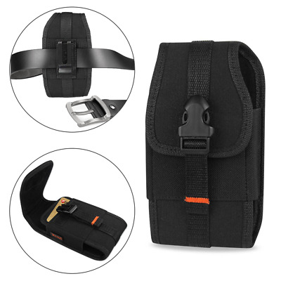 REIKO Vertical Heavy Duty Belt Clip Loops Case Pouch for AT&T ATT Cell Phones