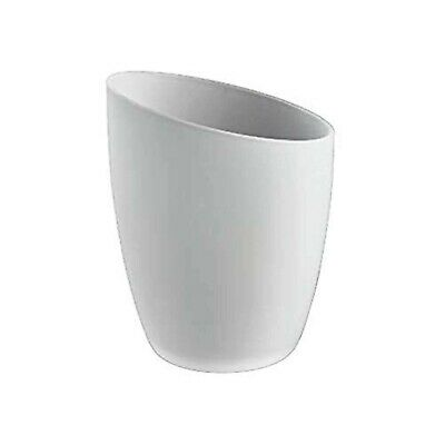 Frosted Glass Lampshade. Fits B&Q Quo/Venus Lights (replacement slanted Ottoni)