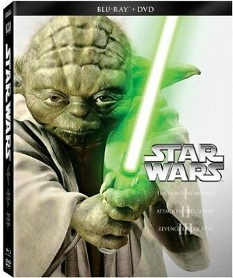 Star Wars Trilogy: Episodes 1-3 (2013, Blu-ray NEW)
