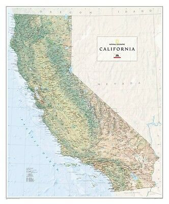 California State Map - Paper