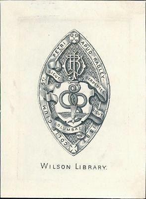 Wilson Library Bookplate.   qq1096