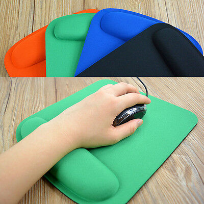 Comfort Useful Wrist Mouse Pad Mat Mice Pad for Optical Mouse Big & Thick