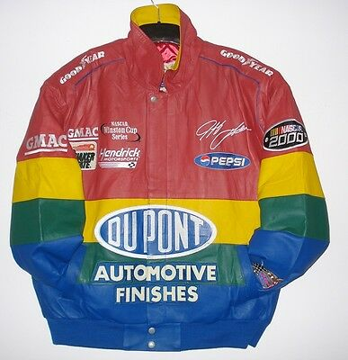 Vintage Size 2XL Jeff Gordon Dupont Leather Jacket New with tag  NEW  XXL