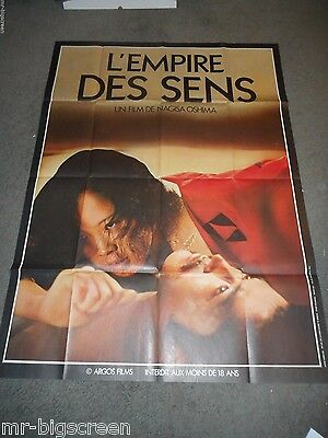 In The Realm Of The Senses - Original Huge French Poster - Oshima - 1976