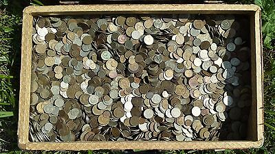 SOVIET RUSSIAN Big Lot of the 1000 kopeks + USSR Commemorative 10 Ruble coins