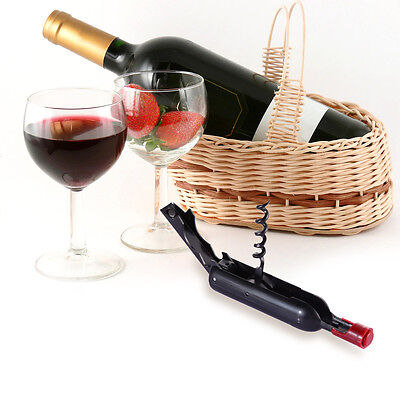 Stainless Steel Cork Screw Corkscrew MultiFunction Wine Bottle Cap Opener New