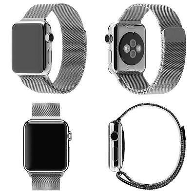 Milanese  Stainless Steel Strap Watch Bands Magnetic Loop For Apple Watch iWatch