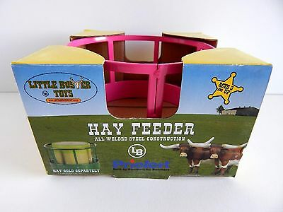 Pink Hay Feeder by Little Buster Toys 1/16 scale All Welded Steel Construction