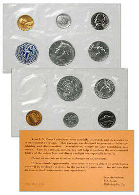 1964 United States US Mint Silver Proof Set SKU18637