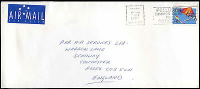Australia 1990 Commercial Airmail Cover To UK #C32472
