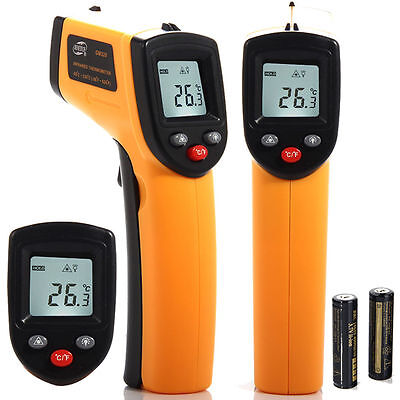 IR Infrared Digital Temperature Gun Non-Contact Thermometer Laser Point GM320