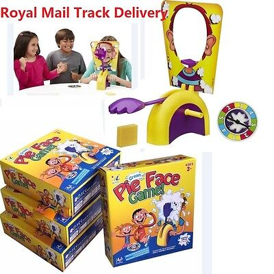 Pie Face Game kids Fun Filled Family Game of Suspense -BOX Package Gift Toys