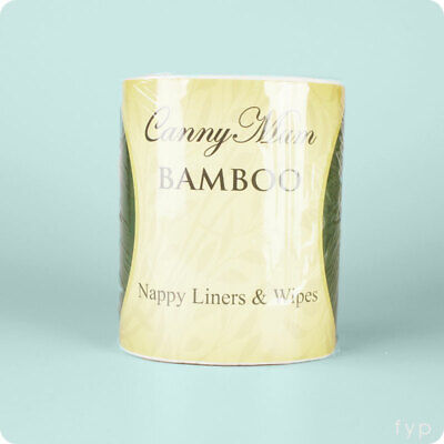 Bamboo Nappy Liners & Wipes - 200pk of Disposable Nappy Liners | UK