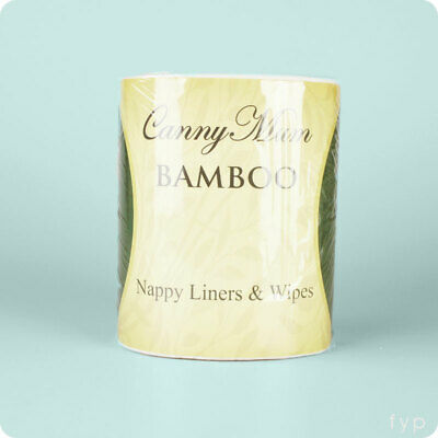 Bamboo Nappy Liners & Wipes - Cannymum Nappy Liners | UK Seller